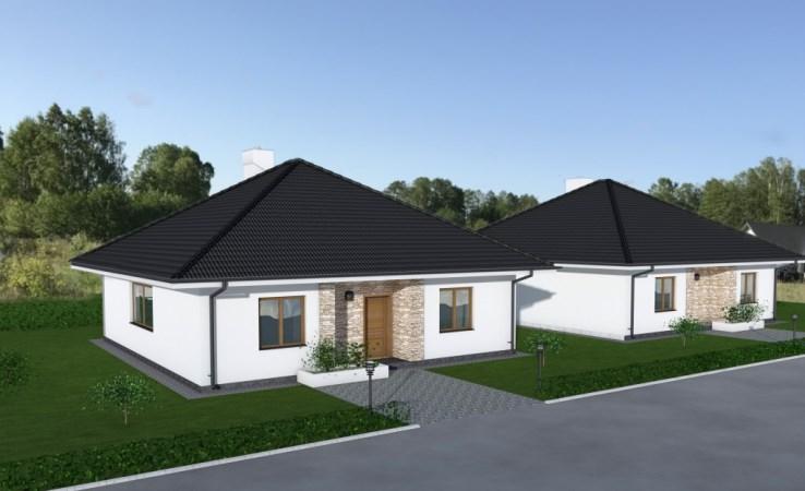domy parterowe - stanisławowo - Juchnowiec Kościelny, Stanisławowo
